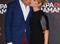 Marina Foïs et Laurent Lafitte : Joli bisou du duo irrésistible de Papa ou maman