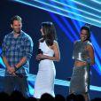 Vin Diesel, Paul Walker, Jordana Brewster, Michelle Rodriguez aux MTV Movie Awards 2013.