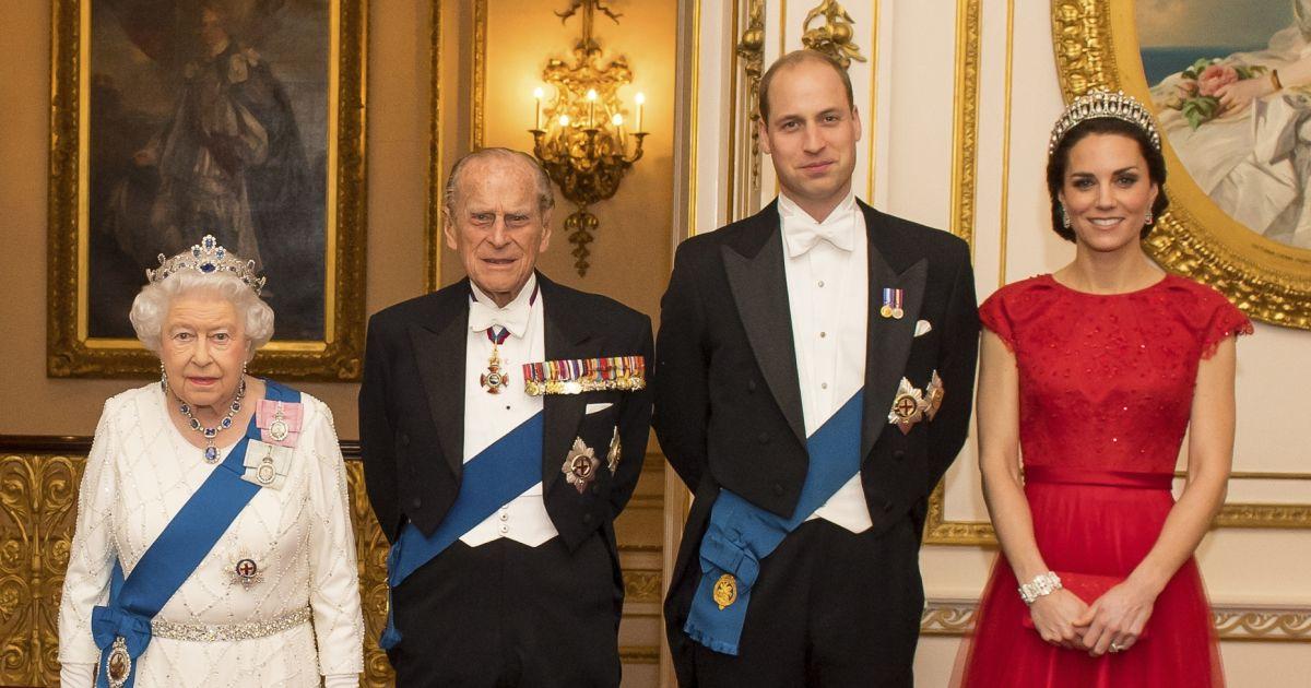La reine Elisabeth II d'Angleterre, le prince Philip, duc ...