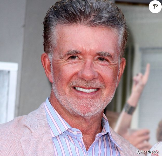 "Alan Thicke lors de la première de ""Bad Moms"" au Mann Village Theater à Los Angeles, le 26 juillet 2016."