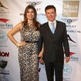 "Alan Thicke (le pere de Robin Thicke) et sa femme Tanya Callau - Soiree ""EXPERIENCE-East Meet West"" organisée par ""The Beverly Hills Chamber of Commerce"" à Beverly Hills, le 5 fevrier 2014."