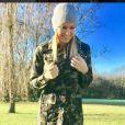 Amélie Neten pose sur Instagram, décembre 2016