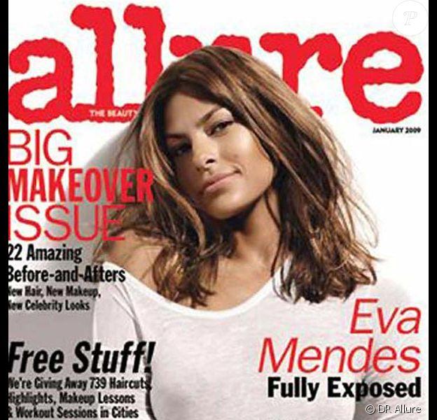 Eva Mendes pour Allure