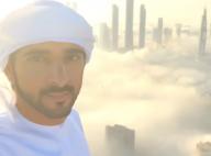 Hamdan, prince héritier de Dubai: Au-delà des nuages, il offre des images folles
