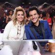 Ingrid Chauvin et Amir - Le jury de Miss France 2017. TF1, 17 décembre 2016.