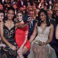Rachel Legrain-Trapani, Flora Coquerel, Alexandra Rosenfeld - Election Miss France 2017. TF1, 17 décembre 2016.