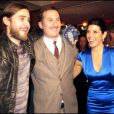 Jared Leto, Darren Aronofsky et Marisa Tomei