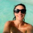 Eve Angeli en vacances au Mexique. Photo publiée sur Twitter, le 20 décembre 2016