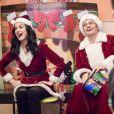Katy Perry et Orlando Bloom rendant visite aux enfants malades de la Children's Hospital Los Angeles, le 20 décembre 2016