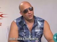 Vin Diesel : Déchaîné en interview, il harcèle une journaliste brésilienne