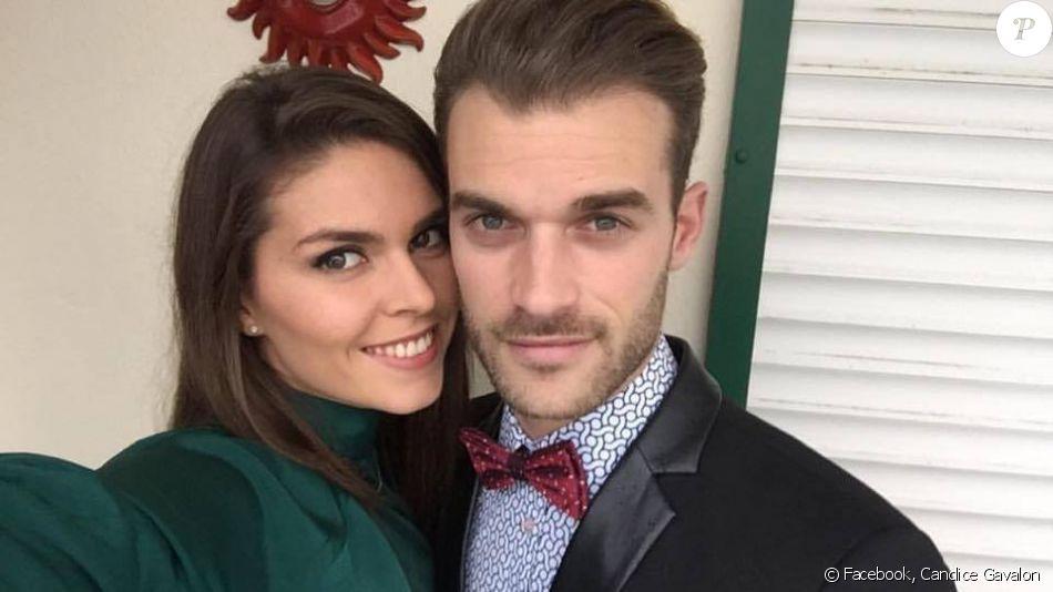 Guillaume Foucault et sa chérie Candice, en mode selfie sur Facebook le 8 mars 2016.