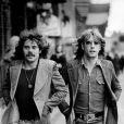 Alan Lancaster et Rick Parfitt du groupe Status Quo à Copenhague, le 6 février 1972. Rick Parfitt est mort à 68 ans le 24 décembre 2016, dans un hôpital de Marbella (Espagne), des suites d'une septicémie.