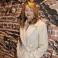 Julie Ferrier - Soirée de réouverture de la boutique Kiehl's rue des Francs Bourgeois à Paris le 12 mars 2015.