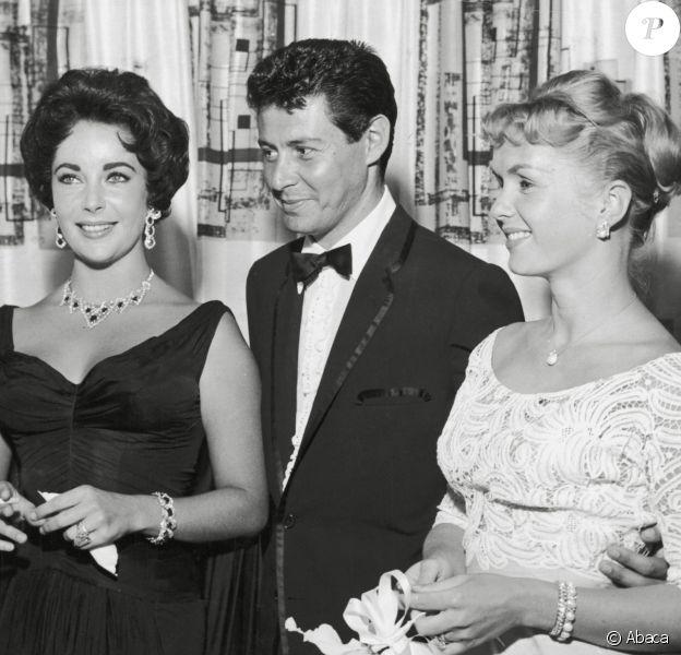 Eddie Fisher, Debbie Reynolds et Elizabeth Taylor en 1958.