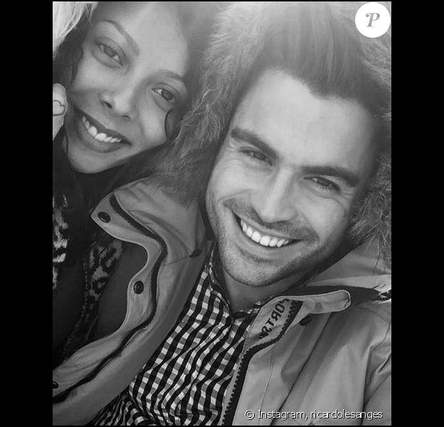 """Ricardo et Nehuda des """"Anges 8"""" couple souriant sur Instagram, novembre 2016"""