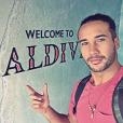 Laurent Maistret en vacances aux Maldives. Décembre 2016.