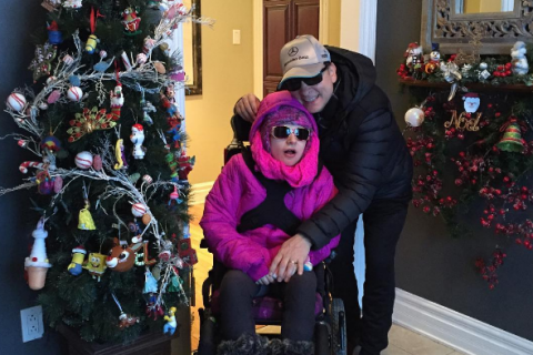 Jean-Marc Généreux : Fin d'année complice avec sa fille handicapée et son fils