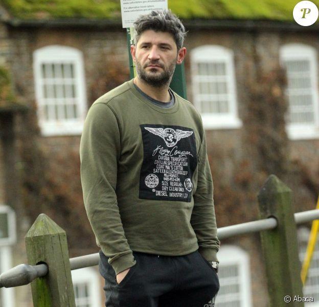Exclusive - Fadi Fawaz, le compagnon de George Michael, à Goring le 24 décembre 2016.