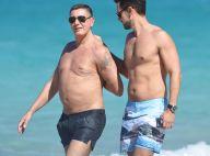 Dolce & Gabbana : Les créateurs détendus à la plage avant la Fashion Week