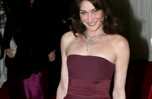 Carla Bruni : Christian Audigier a trouvé comment recycler sa robe Dior !