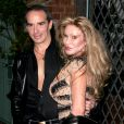 JOCELYN WILDENSTEIN ET LLOYD KLEIN - OUVERTURE DE LA NOUVELLE BOUTIQUE LLOYD KLEIN A LOS ANGELES 14/11/2006 - Los Angeles