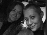 Shannen Doherty vers la fin de la radiothérapie : Ses cheveux ont bien repoussé