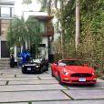 """Photos de la sublime villa des """"Anges 9"""" à Miami. Images dévoilées dans le """"Mad Mag"""" sur NRJ12. Le 5 janvier 2016."""