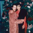 Eli Russell Linnetz et Kris Jenner. Décembre 2016.