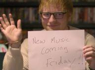 Ed Sheeran : Come-back réussi, ses nouvelles chansons séduisent