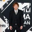 """Ed Sheeran à la soirée """"MTV EMA's 2015"""" à Milan, le 25 octobre 2015."""