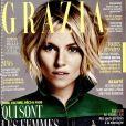 """Couverture de """"Grazia"""", numéro du 6 janvier 2017."""