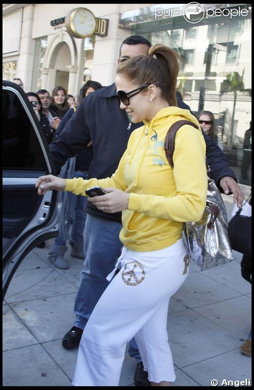 Jennifer Lopez en Victoria's Secret