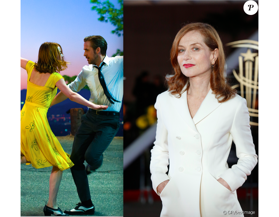 Le film La La Land et Isabelle Huppert triomphent aux Golden Globes 2017.