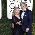 """""""Jeff Bridges et sa femme Susan Geston - La 74ème cérémonie annuelle des Golden Globe Awards à Beverly Hills, le 8 janvier 2017. © Olivier Borde/Bestimage"""""""