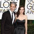 """""""Scott Mackinlay Hahn et sa compagne Winona Ryder - 74ème cérémonie annuelle des Golden Globe Awards à Beverly Hills. Le 8 janvier 2017"""""""