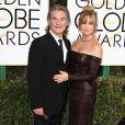 """""""Kurt Russell et sa compagne Goldie Hawn - 74ème cérémonie annuelle des Golden Globe Awards à Beverly Hills. Le 8 janvier 2017"""""""