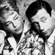 """Simone Signoret et Yves Montand"""