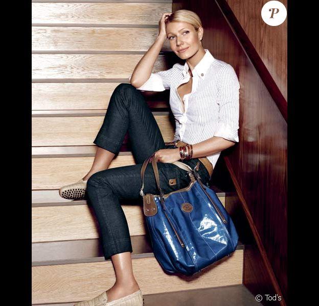 Gwyneth Paltrow pour la campagne Tod's printemps/été 2009