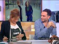Léa Salamé enceinte d'une fille ? Moment de gêne après une gaffe de Yann Moix
