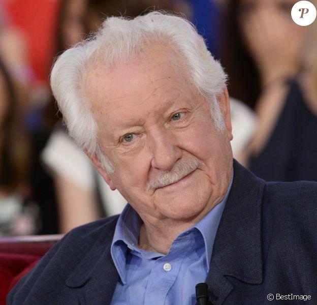 """Pierre Bellemare - Enregistrement de l'émission """"Vivement Dimanche"""" à Paris le 11 juin 2014"""
