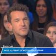 """Benjamin Castaldi très agacé dans """"Touche pas à mon poste"""" (C8) le 10 janveir 2017."""