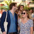 Marilou Berry et Arnaud Schneider à l'inauguration de la fête des Tuileries organisée par Caroline Barclay le 24 juin 2016. © Coadic Guirec / Bestimage