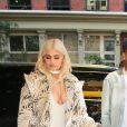 Kylie Jenner et Tyga repérés à New York le 7 septembre 2016.