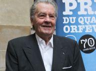 """Alain Delon remercie la police d'avoir """"sauvé la vie"""" de son fils Alain-Fabien"""