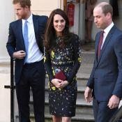 Kate Middleton, court vêtue, William et Harry réunis pour leur marathon