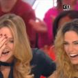 """Stéphanie Loire et Capucine Anav dans """"Il en pense quoi Camille ?"""" le 17 janvier 2017 sur C8."""
