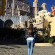 Pauline Ducruet s'est offert une escapade au Portugal entre copines en décembre 2016, photo Instagram