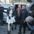 """Paris Jackson - Arrivées au défilé de mode """"Dior Homme"""", collection Hommes Automne-Hiver 2017/2018 au Grand Palais à Paris. Le 21 janvier 2017"""