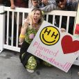 Miley Cyrus à la 'marche des femmes' contre Trump à Los Angeles, le 21 janvier 2017 © F. Sadou/AdMedia via Zuma/Bestimage