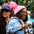 Whoopi Goldberg lors de la 'marche des femmes' contre Trump à New York, le 21 janvier 2017 © Nancy Kaszerman via Zuma/Bestimage